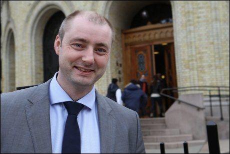 ARBEIDSMINISTER: Robert Eriksson (Frp), ifølge Dagbladet. Foto: Frp