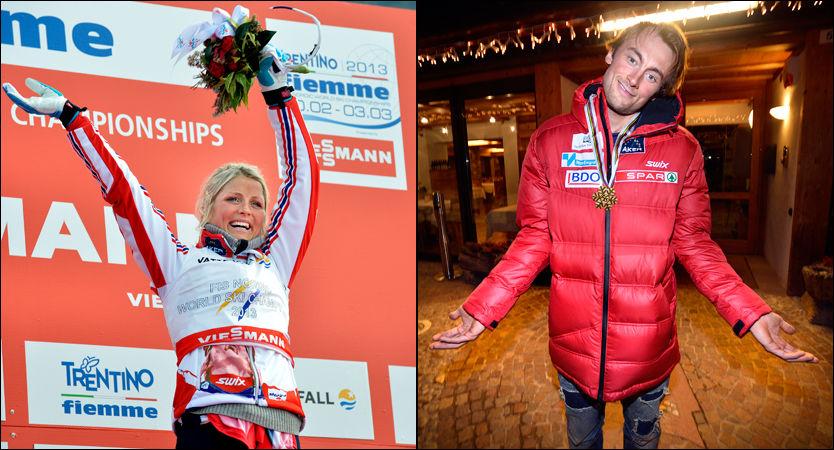 FORBI NORTHÆUG: Therese Johaug har nå en høyere formue enn Petter Northug ifølge skattelistene for 2012. Foto: Bjørn S. Delebekk, VG