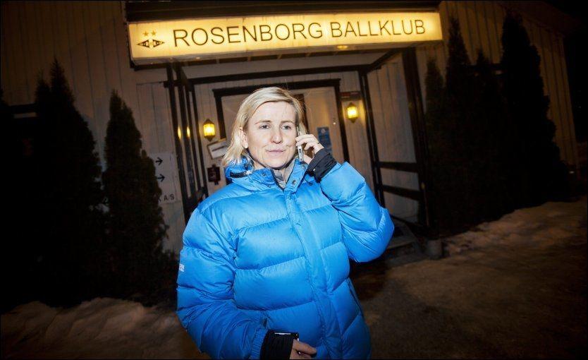 FIKK JOBBEN: Tove Moe Dyrhaug blir Rosenborgs daglige leder på permanent basis. Her utenfor Brakka i Trondheim i vinter. Foto: Øyvind Nordahl Næss, VG