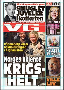 LES MER: I dagens utgave av VG.