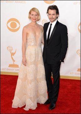 PAR I HJERTER: Claire Danes og den britiske skuespilleren Hugh Dancy. Foto: Pa Photos