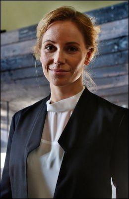 SVENSK STJERNE: Skuespiller Sofia Helin. Foto: NILS BJÅLAND/VG