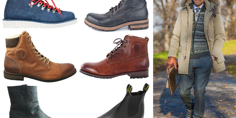 15 tøffe vinter boots til herre finn ditt favorittpar
