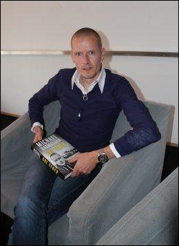 MØTTE VG: Her er Michael Rasmussen i København tirsdag formiddag. Foto: Anders K. Christiansen