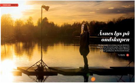 PORTRETT: Les mer om Åsne Seierstad og hennes 22. juli-bok i lørdagens VG Helg. Foto: FAKSIMILE/VG HELG/KYRRE LIEN