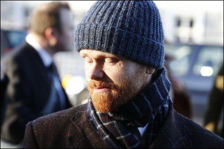 SAMARBEIDET: Ravi, som egentlig heter Ivar Christian Johansen, utenfor kirken. Foto: VG