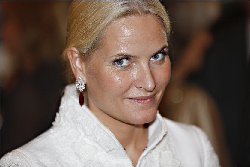 HAR PROLAPS I NAKKEN: Kronprinsesse Mette-Marit ble sykmeldt tidlig i oktober. Foto: Gisle Oddstad