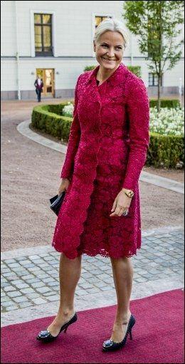 SMERTEFULLT: Kronprinsessen ble sykmeldt kort tid etter at Nederlands kong Willem-Alexander og dronning Maxima var på besøk i Norge tidlig i oktober. Foto: NTB scanpix