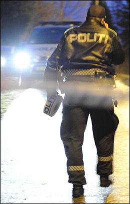 PÅGREPET: Politiet valgte å pågripe barnefaren kort tid etter at de kom til stedet. Foto: HENRIK SUNDGÅRD