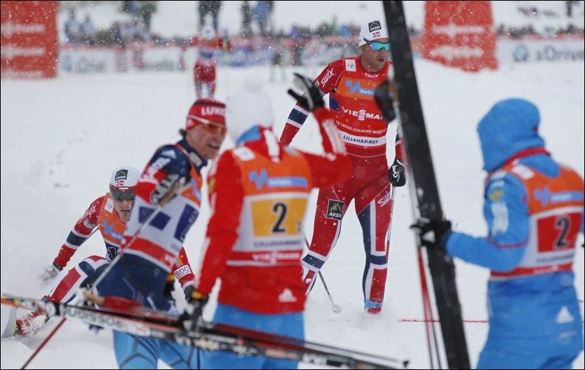 SKAL TA HEVN: Petter Northug legger ingenting mellom når han snakker om sin store OL-drøm; å ødelegge livet til den russiske ankermannen i OL-stafetten. Foto: Scanpix