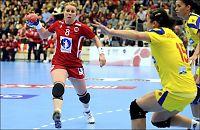 Norge bøtelagt for gulv-reklame i landskamp