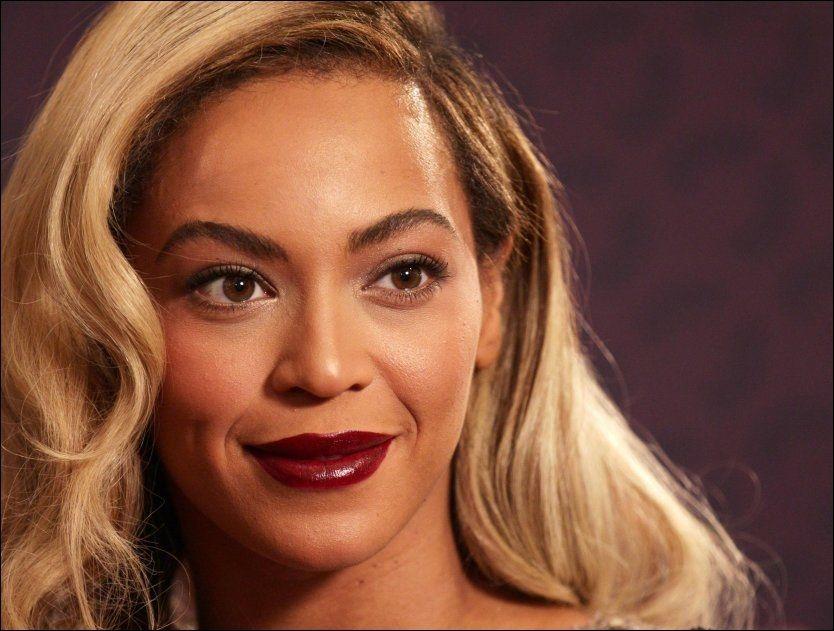 TAR MED SEG DATTEREN: På Beyoncés nyeste album er datteren Blue Ivy kreditert på en av låtene. Foto: Pa photos