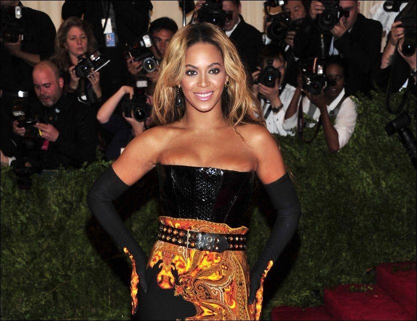 POPULÆR: Beyoncé Knowles. Foto: AP