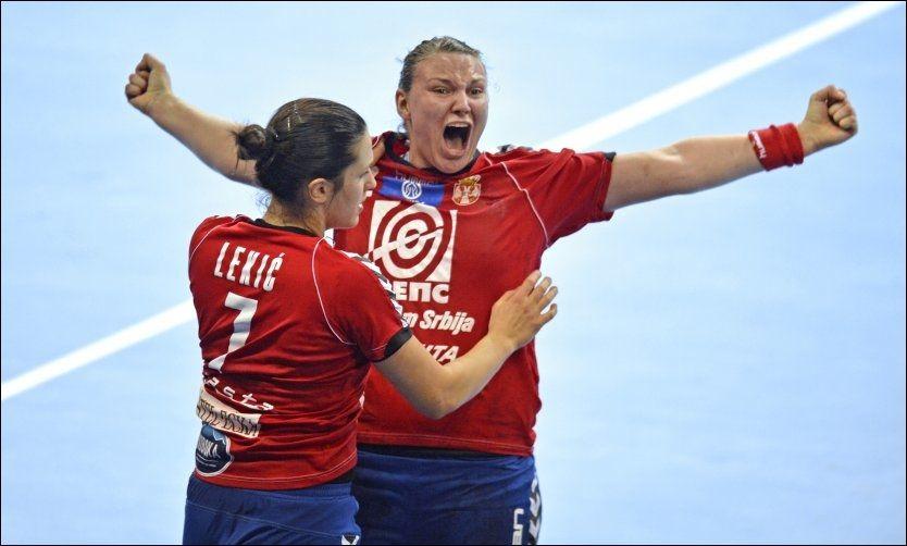 STORSPILTE: Dragana Cvijic scoret åtte ganger mot Norge og var en viktig grunn til at Serbia gikk videre til semifinalen i VM. Foto: Bjørn S. Delebekk, VG