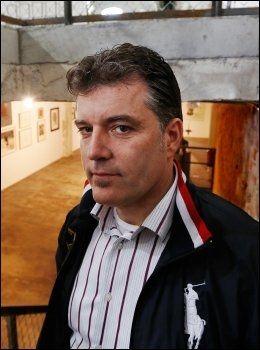 OMSTRIDT: Morten Viskum har laget flere kunstverk som har vært svært omstridt. Foto: Nils Bjåland /VG.