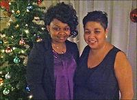 #Julesentralen: Valeria og Mary feiret jul sammen