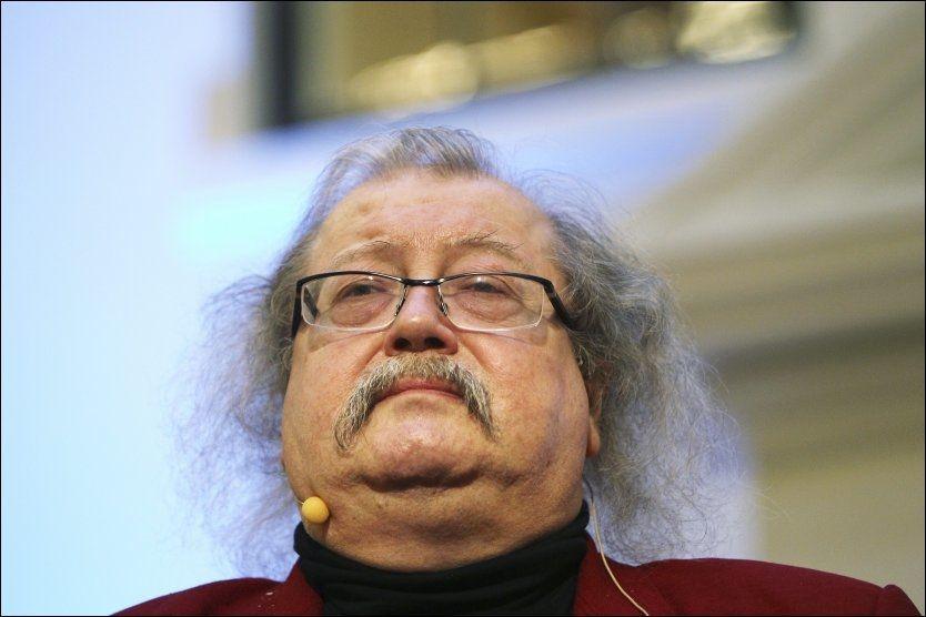KUNNSKAPSRIK: Jon Bing var professor og forfatter. Foto: JAN PETTER LYNAU