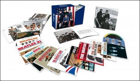 BOKSMAT: Albumene som ble spesiallaget for det amerikanske markedet gis nå ut på ny. De kan også kjøpes separat som enkeltalbum.