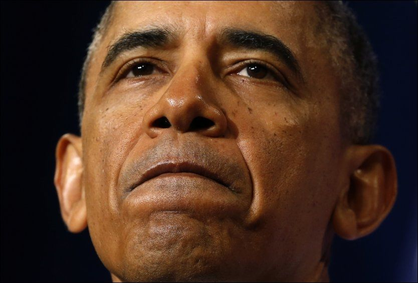 SKEPTISK: Bare 21 prosent av amerikanerne tror på lovnadene fra president Obama. Foto: Reuters