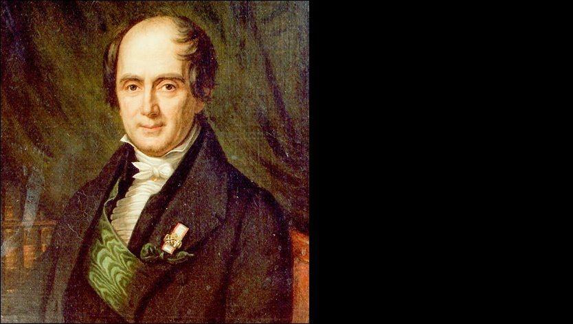 NASJONAL STRATEG: Jacob Aall hadde sin naturlige plass blant Eidsvollsmennene. Her er han malt i 1839 av Johan Gørbitz.