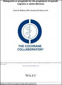 UAVHENGIG GRANSKNING: I denne Cochrane-studien har forskerteamet gjennomgått all forskning, studier og artikler, for bruk av antiepileptiske medikamenter mot migrene.