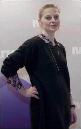 STOLT AV SERIEN: Anna Bache-Wiig gleder seg til innspillingen av sesong to av «Mammon», og er stolt av den første sesongen. Foto: Javad M. Parsa
