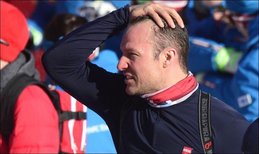 LANGE SVEV: Aksel Lund Svindal og de andre alpinistene får ingen lett oppgave i OL-løypa, som er krevende fra start til bånn. Foto: Helge Mikalsen, VG
