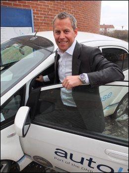ANALYTIKEREN: Haakon J. Marthinsen er daglig leder i det DNB eide biladministrasjonsselskapet Autolease. Foto: Autolease Foto: