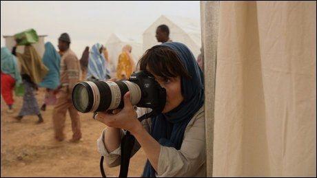 «Tusen ganger god natt»: Her er Juliette Binoche i rollen som krigsfotografen Rebecca. Foto: EUFORIA FILM