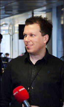SOLSTAD: Øyvind Solstad er ansvarlig for leserinvolvering og sosiale medier i VG Foto: MAGNAR KIRKNES/VG