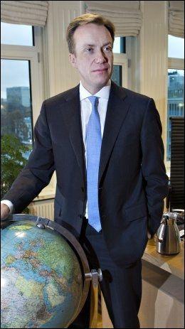 SKUFFET: Utenriksminister Børge Brende (H). Foto: Neumann, Roger