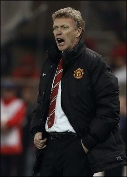 PRESSET: Manchester United-manager David Moyes. Foto: AP