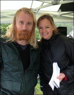 VGs Camilla Norli besøkte Thorbjørn Harr på Vikings-settet utenfor Dublin i Irland.