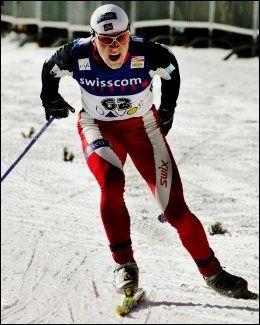 FIKK DISPENSASJON: Tore Ruud Hofstad i aksjon i Davos i 2007. Foto: Magnar Kirkenes