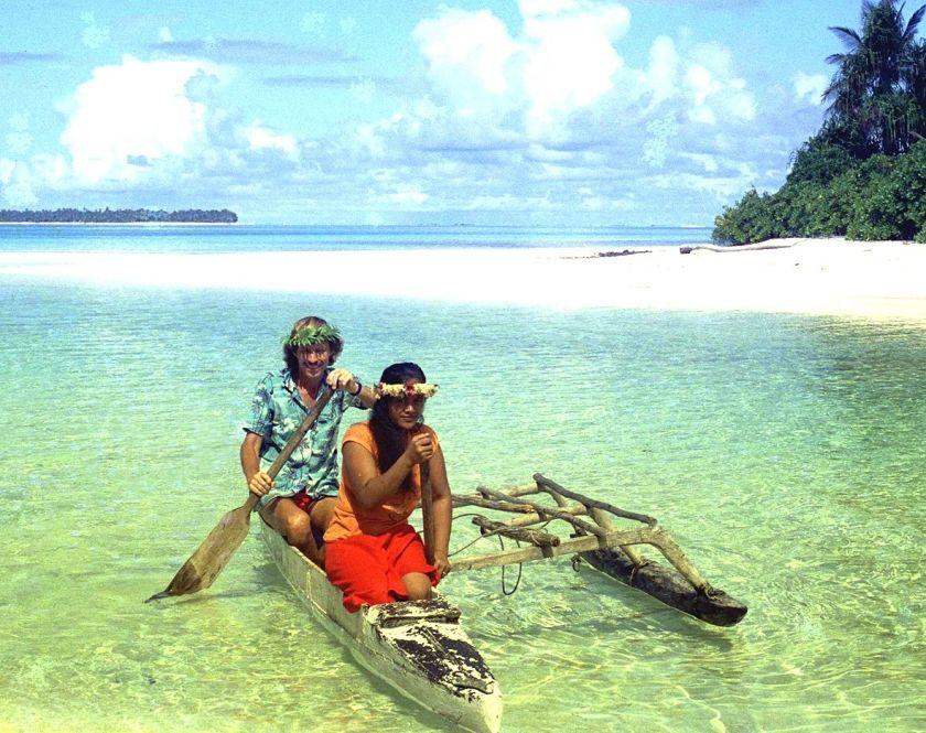 MINST BESØKTE LAND: Tuvalu har bare 20 turister i uken. FOTO: AP Photo/Alastair/Sydhav.no