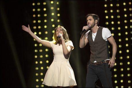 DUETT: Syng som om du mener det!, synger Oda&Wulff i låta «Sing». Foto: SPEKTRUM