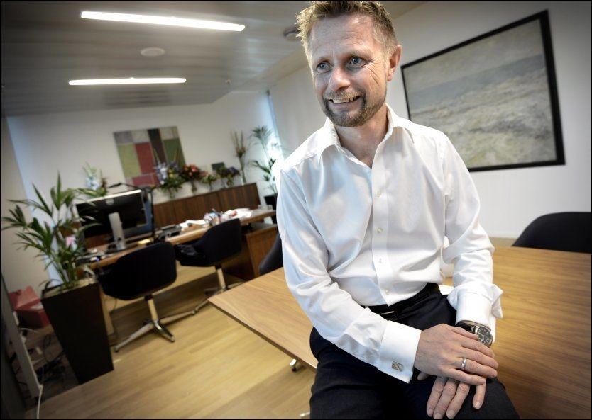 KONTROLLANSVAR: Det er tredje gang helseminister Bent Høie (H) justerer forslaget etter at det ble sendt ut på høring. Foto: HARALD HENDEN/VG