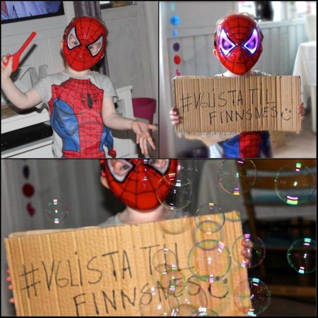 Spiderman vil også ha besøk av VG-lista. Foto: Karoline R. Langnes/Instagram