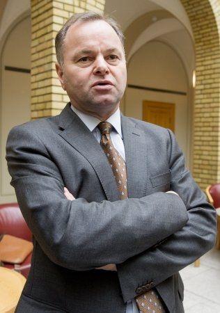 SIER NEI TIL DALAI LAMA: Olemic Thommessen, stortingsrepresentant fra Høyre Foto: NTB/Scanpix