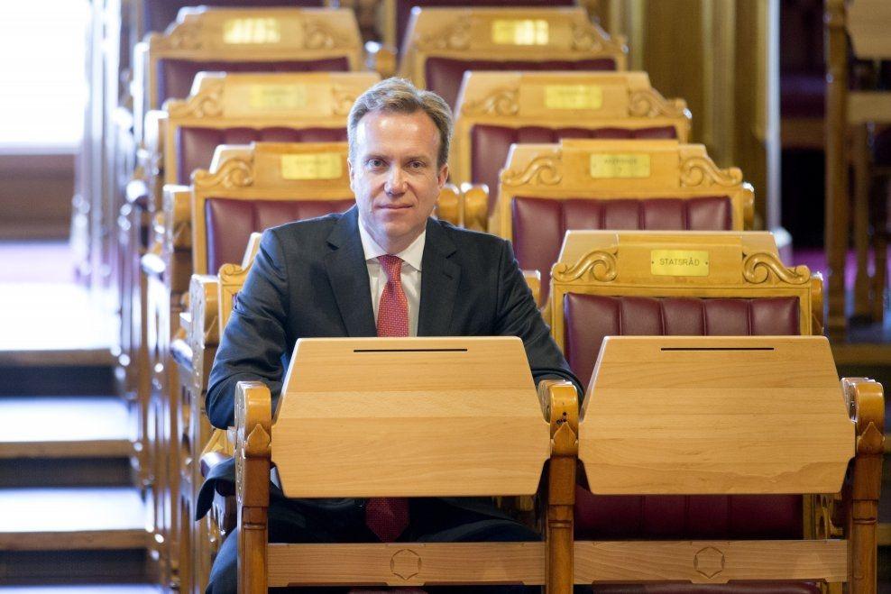 I NORGES INTERESSE: Utenriksminister Børge Brende (H) sier at det er i Norges interesse å gjenskape dialog med Kina. Foto: NTB/Scanpix