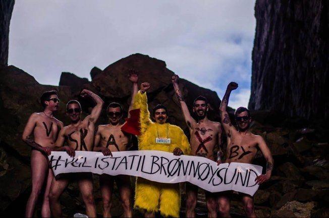 BYR PÅ SEG SELV: Disse guttene vil også ha VG-lista til Brønnøysund. Foto: Privat