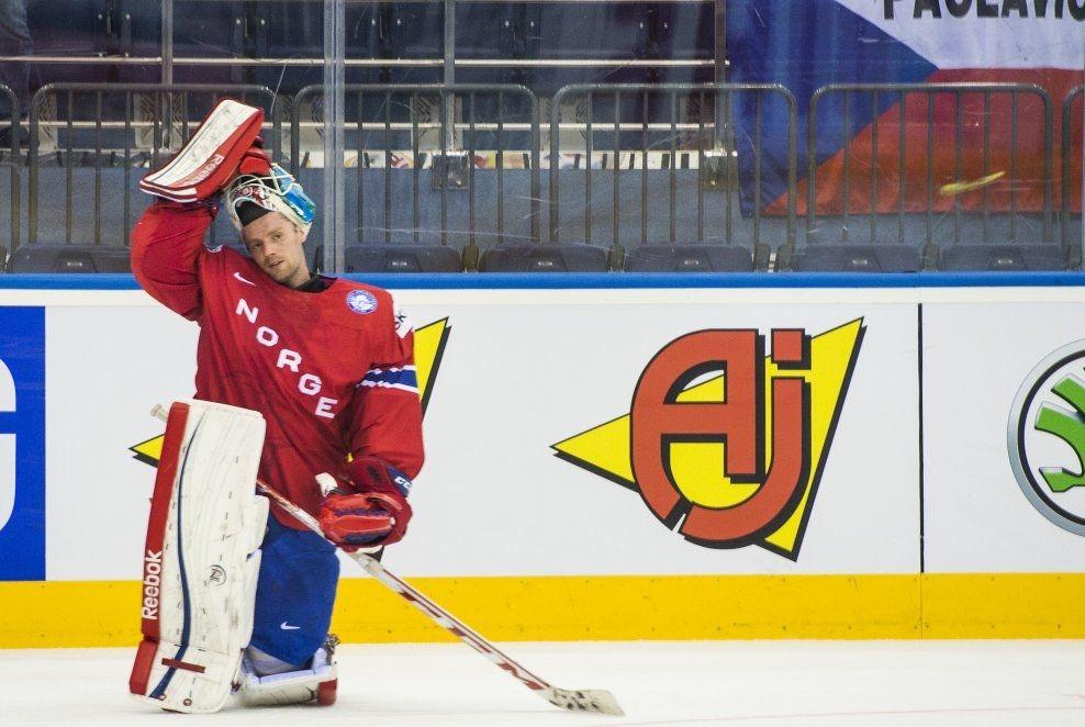 ishockey keeper