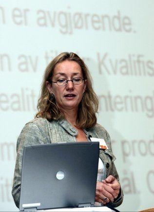 FORSKNINGSSJEF: Anne Britt Djuve ved Fafo Foto: NTB/Scanpix