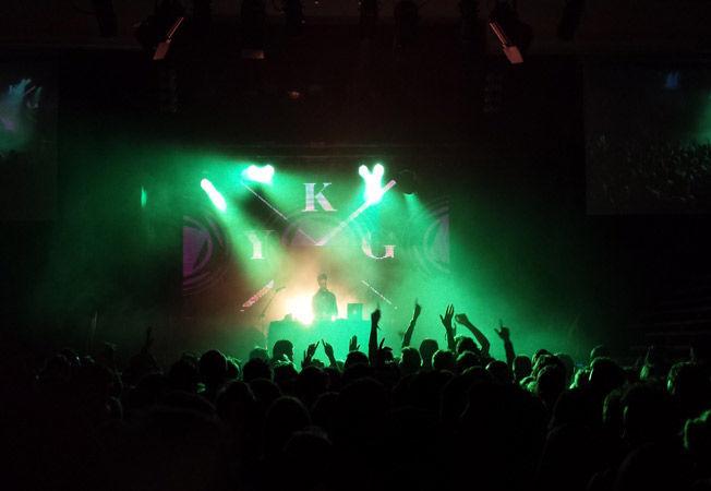 FULLT HUS: Dette bildet er fra en konsert i Bergen. Foto: PRIVAT