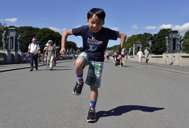 <p>SINNATAGG: De fleste Oslo-turister må innom Vigelandsparken<br/></p>