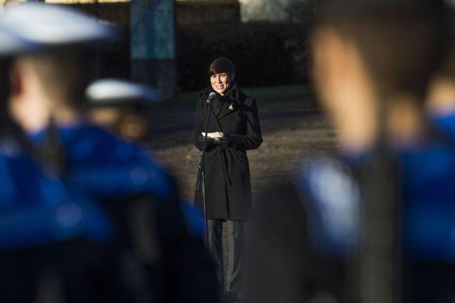 <p>SLITER: Forsvarsminister Ine Eriksen Søreide har nulltoleranse mot sex-trakassering i Forsvaret, men andelen kvinner som opplever det, går ikke ned FOTO: FRODE HANSEN/VG</p>