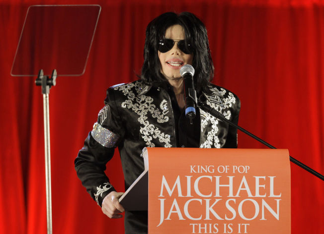 <p>ANNONSERTE KONSERTENE: 5. mars fortalte Michael Jackson om hans konsertplaner for London O2 Arena i juli 2009.</p>