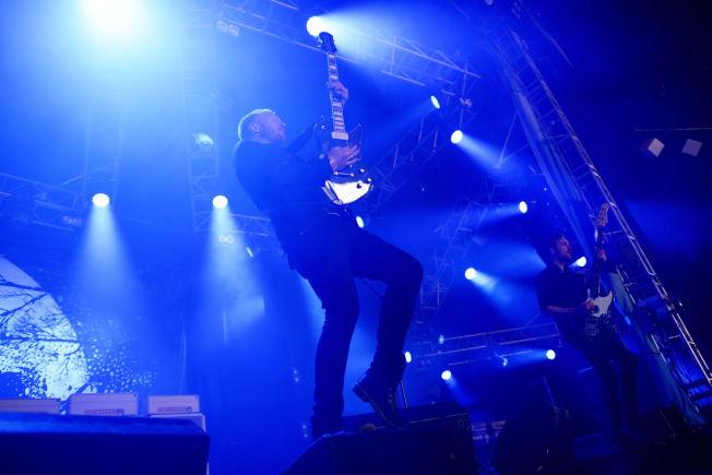 <p>ETTERTRAKTET: Gitarist Terje Winterstø Røthing i bandet Skambankt er den nordmannen som har spilt flest ganger på Roskilde.<br/></p>