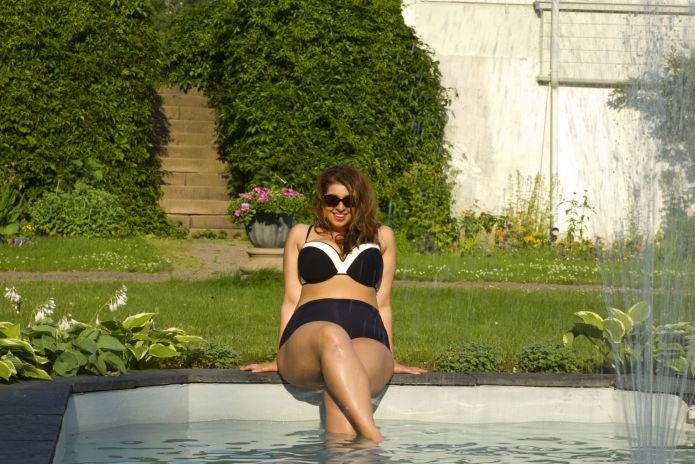 bikini blogg ubehag i nedre del av magen