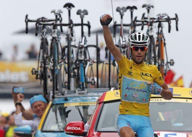 <p>VANT. IGJEN: Her triller Vincenzo Nibali først over målstreken i Tour de France for fjerde gang i årets ritt.<br/></p><p/>